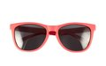 Red sun glasses isolated Royalty Free Stock Photo