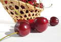 Red sweet cherries. Royalty Free Stock Photos