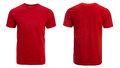 Red t-shirt, clothes Royalty Free Stock Photo