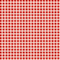 Red tablecloth background with vignette Stock Photo