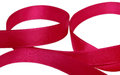Red tape on a white background Royalty Free Stock Images