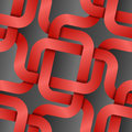 Red tapes background seamless p Royalty Free Stock Photography