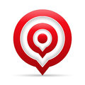 Red Target Royalty Free Stock Photo