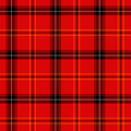 Red tartan Royalty Free Stock Photo