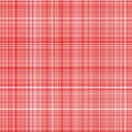 Red tartan cloth Stock Photos