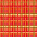 Red tartan plaid seamless pattern tones Stock Photos