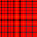 Red Tartan Seamless Pattern Stock Photos