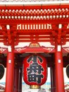 The Red Temple Sensoji Royalty Free Stock Image