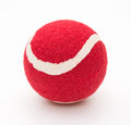 Red tennis ball for pet Royalty Free Stock Photo