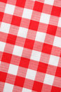 Red textile Gingham Royalty Free Stock Photos
