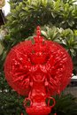 Red thousand hands buddha image for pattern it is Royalty Free Stock Photos