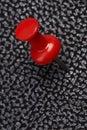 Red thumbtack Royalty Free Stock Photo