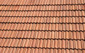 Red tile roof Royalty Free Stock Photo