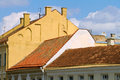 Red tile roof of Vilnius Old Town Royalty Free Stock Images
