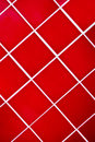 Red Tiled Royalty Free Stock Image