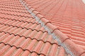Red-tiled roof Royalty Free Stock Images