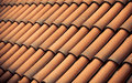 Red Tiles Roof Texture Archite...