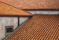 Red tiling roofs Royalty Free Stock Photography