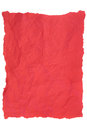 Red Tissue Paper Royalty Free Stock Photo