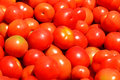 Red tomato many fruit in stall photo taken on junuary th Royalty Free Stock Photos