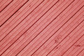 Red toned wood fence or wall surface. Royalty Free Stock Photo