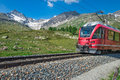 Red train Royalty Free Stock Photo