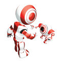 Red Trainer Robot Royalty Free Stock Photo