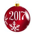Red Tree 2017 Decoration
