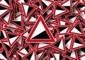 trojuholník vzor dizajn