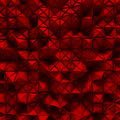 Red triangle poligons pattern wall background
