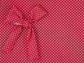 Red tricot  fabric Stock Image