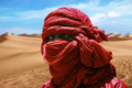 Red tuareg Royalty Free Stock Photo