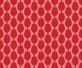 Red tulips pattern