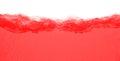 Red turbulent liquid Royalty Free Stock Photo
