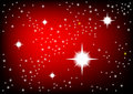 Red universe Royalty Free Stock Photo