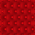 Red upholstery leather pattern background Stock Photography