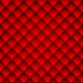 Red upholstery leather pattern background. Royalty Free Stock Photos