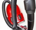The red vacuum cleaner Stock Photography