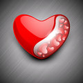Red Valentine Heart. Stock Image
