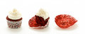 Red Velvet Cup Cakes Royalty Free Stock Photo