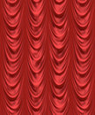 red velvet theatre curtain  Royalty Free Stock Images