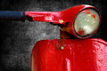 Red vespa Royalty Free Stock Photo