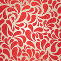 Red vintage wallpaper Stock Photos