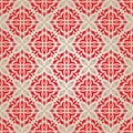 Red vintage wallpaper Stock Photography