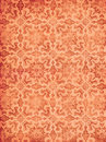 Red vintage wallpaper Royalty Free Stock Photo