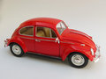 Red Volkswagen Beetle Royalty Free Stock Photo