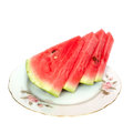 Red water melon Royalty Free Stock Photography