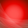 Red wave bright background template Stock Photo