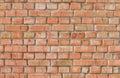 Red weathered brick wall seamless pattern Royalty Free Stock Photo
