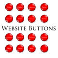 Red website buttons Royalty Free Stock Image